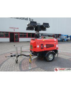TOWERLIGHT SUPERLIGHT VT1 MK2 ECO MOBILE LIGHTNING 4x1000W TOWER LIGHT W/9KVA GENERATOR 230V 2009 7145H