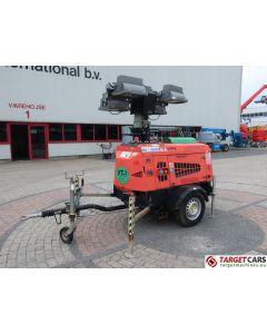 TOWERLIGHT SUPERLIGHT VT1 MK2 ECO MOBILE LIGHTNING 4x1000W TOWER LIGHT W/9KVA GENERATOR 230V 2009 7182H