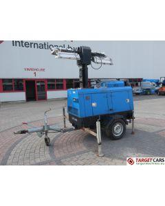SUPERLIGHT VT1 MK1 MOBILE LIGHTNING TOWER LIGHT 900CM W/GENERATOR 9KVA 2007 3471H