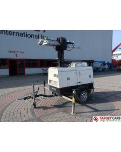 SUPERLIGHT VT1 MK1 MOBILE LIGHTNING TOWER LIGHT 900CM W/GENERATOR 9KVA 2007 8595H