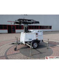 SMC TL90 MOBILE LIGHTNING TOWER TL-90 TOWER LIGHT 900CM W/GENERATOR 230V 2010 1753H DEFECT