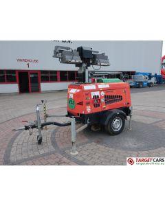 TOWERLIGHT SUPERLIGHT VT1 MK2 ECO MOBILE LIGHTNING 4x1000W TOWER LIGHT W/9KVA GENERATOR 230V 2010 8600H