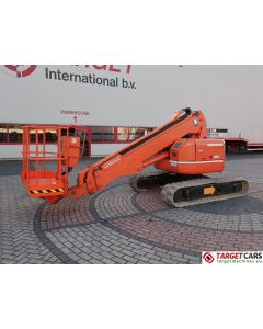 HITACHI HX99B TELESCOPIC CRAWLER RUBBER TRACKED BOOM WORK LIFT 1170CM DIESEL 2003 1330H