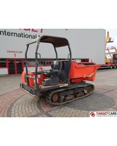 KUBOTA KC250HR TRACKED DUMPER W/SWIVEL SCOOP BUCKET DIESEL 2007