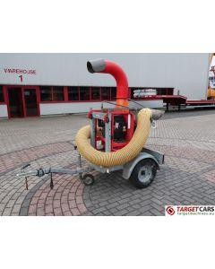 ELIET TL PRO 450 LEAF BLOWER VACUUM TRUCKLOADER 14HP 2014 W/TRAILER