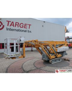 OMME 2200RBD SPIDER NARROW TRACKED CRAWLER TELESCOPIC BOOM WORK LIFT BI-FUEL ELECTRIC/DIESEL 2180CM 2004 5028SLL