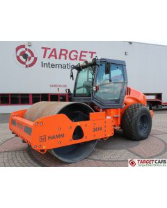 HAMM 3414 SMOOTH SINGLE DRUM COMPACTOR ROLLER 14T 214CM 2018 4HRS NEW UNUSED
