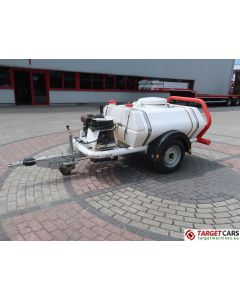 BRENDON BB-1000 POWERWASHER PRESSURE WASHER BOWSER 940L/15L/28L 137BAR TRAILER W/DIESEL ENGINE 2004
