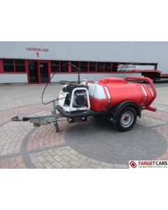 BRENDON BB-1000 POWERWASHER PRESSURE WASHER BOWSER 940L/15L/28L 207BAR TRAILER W/DIESEL ENGINE 2006