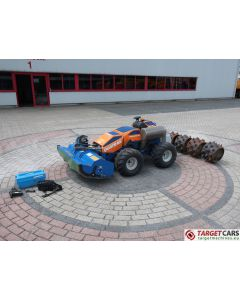 IRUS QUATRAK 125CM FLAIL REMOTE CONTROL WHEELED ALL TERRAIN 4WD 4WS MOWER 2016 109HRS