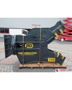 RENT DEMOLITION RD32 HYDR ROT PULVERIZER CRUSHER RD-32 2019 TO FIT 26~40T EXCAVATOR R8754611