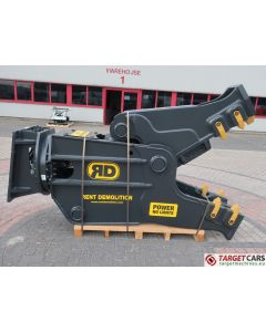RENT DEMOLITION RD25 HYDRAULIC ROTATING PULVERIZER CRUSHER RD-25 2019 FOR 25~32T EXCAVATOR R9906611