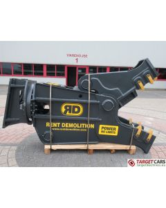 RENT DEMOLITION RD20 HYDRAULIC ROTATING PULVERIZER CRUSHER SHEAR RD-20 2019 TO FIT 21~28T EXCAVATOR R9942611