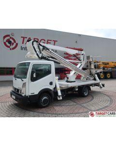 NISSAN CABSTAR NT400 35.12 07-16 WHITE W/ MANOTTI GX23-11 BASKET BOOM WORKLIFT 2250CM
