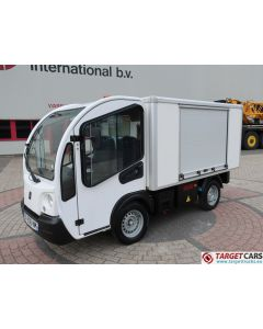 GOUPIL G3 ELECTRIC UTILITY VEHICLE UTV CLOSED BOX LONG WIDE VAN 02-2014 WHITE 14857KM
