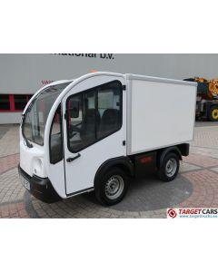 GOUPIL G3 ELECTRIC UTILITY VEHICLE UTV CLOSED BOX VAN 06-2012 WHITE 3981KM