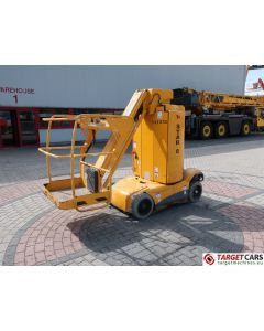 HAULOTTE STAR 8-1 VERTICAL MAST AERIAL WORK LIFT PLATFORM W/JIB ELECTRIC 2012 873CM 524HRS