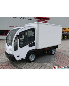 GOUPIL G3 ELECTRIC UTILITY VEHICLE UTV CLOSED BOX LONG WIDE HIGH VAN 05-2013 WHITE 3319KM