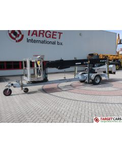 OMME 2500EBZP TOWABLE TELESCOPIC BI-FUEL BOOM WORK LIFT 2510CM 2008 6751T