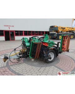 RANSOMES TG4650 HYDRAULIC 7-GANG CYLINDER REEL MOWER TRACTOR ATTACHMENT 2014 UA200460