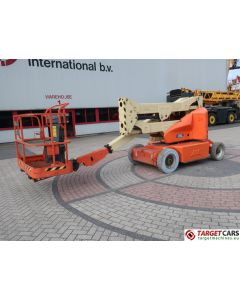 JLG E400AN NARROW ARTICULATED ELECTRIC BOOM WORKLIFT W/JIB 2008 1419CM