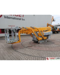 OMME 2200RBD SPIDER NARROW TRACKED CRAWLER TELESCOPIC BOOM WORK LIFT BI-FUEL ELECTRIC/DIESEL 2180CM 2005 5104SLL