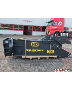 RENT DEMOLITION RS18 HYDRAULIC ROTATING SHEAR RS-18 2019 TO FIT 21~28T EXCAVATOR R9110612