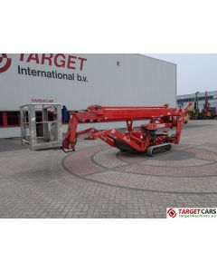 TEUPEN LEO 22T HYLIFT SPIDER TRACKED CRAWLER TELESCOPIC BOOM WORK LIFT ELECTRIC/DIESEL 2200CM 2004 140039