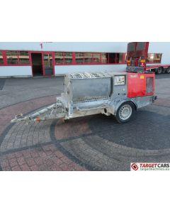 PUTZMEISTER SP11 DMT WORM PLASTERING MACHINE PORTABLE TRAILERED PUMP DIESEL 2007 1407H