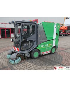 TENNANT 500ZE ELECTRIC LITHIUM-ION SUCTION SWEEPER GREEN 2014 3825HRS