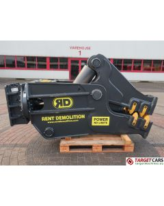 RENT DEMOLITION RD25 HYDRAULIC ROTATING PULVERIZER CRUSHER SHEAR RD-25 2019 FOR 25~32T EXCAVATOR R9146612