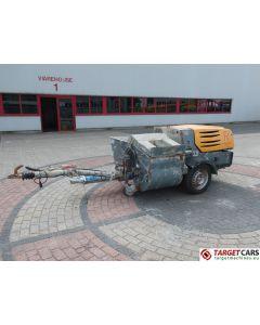 PUTZMEISTER SP11 BUR WORM PLASTERING MACHINE PORTABLE TRAILERED PUMP DIESEL 2013