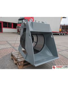 KINSHOFER DKS15HD ROTARY HBS800 SCREENING 80CM BUCKET 2018 SC0800180020 UNUSED TO FIT 8~15T