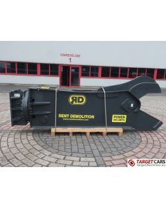 RENT DEMOLITION RS25 HYDRAULIC ROTATING SHEAR RS-25 2019 TO FIT 25~32T EXCAVATOR 9196612