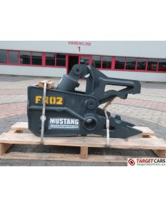 MUSTANG FR02 HYDRAULIC PULVERIZER CRUSHER SHEAR FR-02 2020 TO FIT 1.5~5T EXCAVATOR AH200710