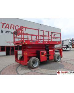 JLG 530LRT MEGADECK DIESEL 4x4 SCISSOR WORK LIFT W/JACKLEGS 1820CM 2016 828H E200000250