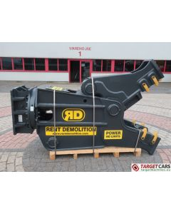 RENT DEMOLITION RD20 HYDRAULIC ROTATING PULVERIZER CRUSHER SHEAR RD-20 2020 TO FIT 21~28T EXCAVATOR R9255612