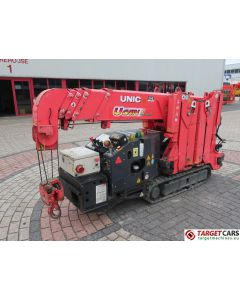 UNIC URW295 CDMER MINI TRACKED CRANE 2.9T 865CM BI-FUEL ELECTRIC-400V / DIESEL 2008