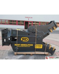 RENT DEMOLITION RD20 HYDRAULIC ROTATING PULVERIZER CRUSHER SHEAR RD-20 2020 TO FIT 21~28T EXCAVATOR R9289612
