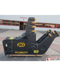 RENT DEMOLITION D20 HYDRAULIC PULVERIZER CRUSHER D-20 2020 TO FIT 21~29T EXCAVATOR R9291612