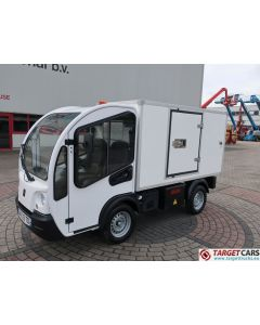 GOUPIL G3 ELECTRIC UTILITY VEHICLE UTV BOX LONG ISOLATED TIPPER VAN 10-2015 WHITE 2671KM