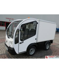 GOUPIL G3 ELECTRIC UTILITY VEHICLE UTV CLOSED BOX VAN 05-2011 WHITE 21889KM