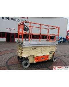 JLG 2646ES ELECTRIC SCISSOR WORK LIFT 12-2008 1200021895 314HRS 992CM NO-CE