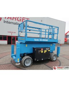 GENIE GS-4069BE HYBRID BI-ENERGY SCISSOR WORK LIFT GS4069 W/JACKLEGS 1412CM 2015 88HRS