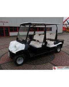 MELEX ELECTRIC GOLF CART 4-PERSON W/STREET APPROVAL L7E-CP 06-2017 WHITE 2876KM