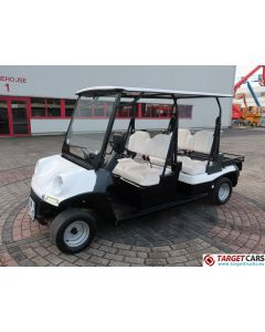 MELEX ELECTRIC GOLF CART 4-PERSON W/STREET APPROVAL L7E-CP 06-2017 WHITE 3737KM