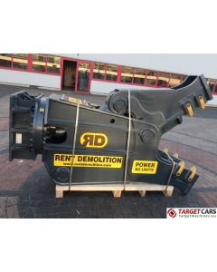RENT DEMOLITION RD20 HYDRAULIC ROTATING PULVERIZER CRUSHER SHEAR RD-20 2020 TO FIT 21~28T EXCAVATOR R9379612