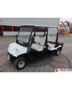 MELEX ELECTRIC GOLF CART 4-PERSON W/STREET APPROVAL L7E-CP 06-2017 WHITE 3642KM