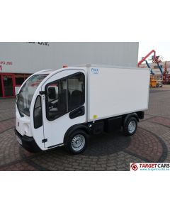 GOUPIL G3 ELECTRIC UTILITY VEHICLE UTV BOX LONG FRIDGE/FREEZER THERMO-KING VAN 04-2015 WHITE 1994KM