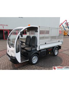 GOUPIL G3 ELECTRIC UTILITY VEHICLE UTV OPEN PLATFORM LONG RACKS VAN 08-2012 WHITE 15405KM